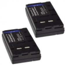 2er Set Mtec baterija za NP-33 / NP-55 - 2000mAh -