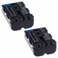 2er Set MTEC baterija za Sony NP-FM500H