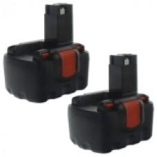 2er Set MTEC baterija za Bosch GLI12V / GSB12VE-2 / GSR12V / PAG12V