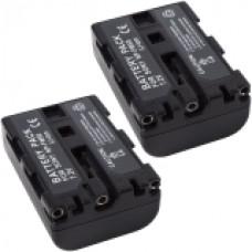 2er Set MTEC baterija za Sony CCD-TRV106K / CCD-TRV108- 1300mAh