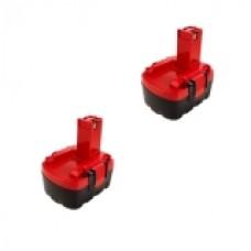 2er Set Baterija za Bosch BAT038 BAT040 BAT041 BAT14 GSB 14,4VE2/PS