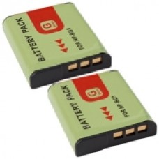 2er Set MTEC baterija za Sony Cybershot DSC-H3 / DSC-H3B - 960mAh