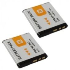 2er Set Mtec baterija za Sony NP-BN1, DSC-WX5, DSC-TX5, DSC-TX7 - 6