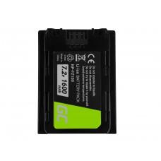 Green Cell baterija za digitalno kamero Sony Alpha A7 III A7R III A9 A9R A9S ILCE-7M3 7RM3 7.2V 1600mAh (CB64)