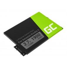 Green Cell 170-1032-01 baterija za Amazon Kindle 3 Keyboard 2010 D00901 (RE01)