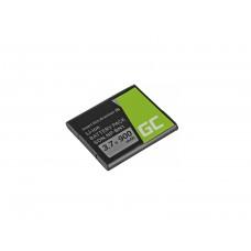 Green Cell baterija NP-BN1 Sony Cyber-Shot DSC-QX10 DSC-QX100 DSC-TF1 DSC-TX10 DSC-W530 DSC-W650 DSC-W800 3.7V 630mAh (CB48)