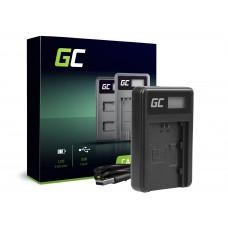 Green Cell polnilec BC-QZ1 za Sony NP-FZ100, Alpha A7 III A7R III A9 A9R A9S ILCE-7M3 7RM3 (ADCB27)