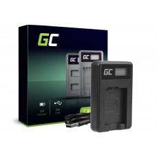 Green Cell polnilec BC-TRW za Sony NP-FW50, Alpha A7 A7 II A7R A7R II A7S A7S II A5000 A5100 A6000 A6300 A6500 (ADCB28)