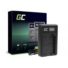 Green Cell polnilec CBC-E5, LC-E5 za Canon LP-E5, EOS 450D, 500D, 1000D, Kiss F, X2, X3, Rebel T1i, XS, XSi (ADCB24)