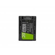 Green Cell NP-FH50 Camera baterija za Sony DCR-HC45, DCR-SR300E, DCR-SR70, DCR-SX50E 7.4V 650mAh (CB61)
