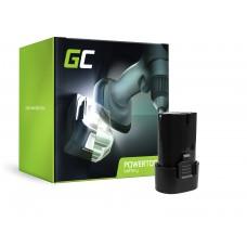 Green Cell baterija za orodje BL7010 BL0715 za Makita CL070 CL072 DF010 DF012 TD020 TD021 TD022 (PT190)