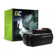 Green Cell baterija za orodje PC18B za Porter-kabel PC1800D PC180DK PC18AG PC18JR PC18JS PC18RS PC18SS (PT205)