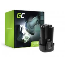 Green Cell baterija za orodje PCL12BLX za Porter-kabel PCL120CR PCL120DD PCL120ID PCL212IDC PCL120MTC Stanley FMC010 FMC040 (PT206)