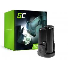 Green Cell Powertool baterija Bosch PMF PSM PSR 10,8 LI-2 10.8V 1.5Ah (PT83)