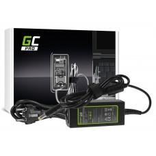 Green Cell PRO polnilec  AC Adapter za Acer Aspire E5-511 E5-521 E5-573 E5-573G ES1-131 ES1-512 ES1-531 V5-171 19V 2.37A 45W (AD66P)