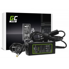 Green Cell PRO polnilec  AC Adapter za Acer Aspire One 521 522 531 751 752 753 756 A110 A150 D150 D250 19V 1.58A 30W (AD28P)