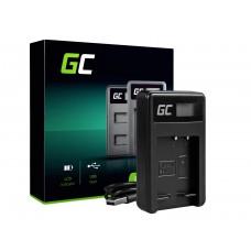 Green Cell polnilec baterije BC-CSG za Sony NP-BG1/NP-FG1, DSC H10, H20, H50, HX5, HX10, T50, W50, W70 (ADCB14)