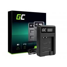 Green Cell polnilec baterije BC-CSN za Sony NP-BN1, Cyber-Shot DSC-QX10 DSC-QX100 DSC-TF1 DSC-TX10 DSC-W530 DSC-W650 DSC-W800 (ADCB13)