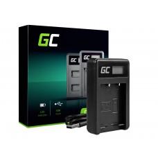 Green Cell polnilec baterije BC-W126 za Fujifilm NP-W126, FinePix HS30EXR, HS33EXR, HS50EXR, X-A1, X-A3, X-E1 (ADCB15)
