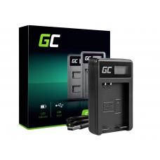 Green Cell polnilec baterije BCN-1 za Olympus BLN-1/BCN-1, PEN-F, OM-D EM1, EM5, OM-D E-M5 Mark II (ADCB17)