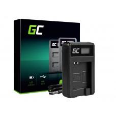 Green Cell polnilec baterije CB-2LY za Canon NB-6L/6LH, PowerShot SX510 HS, SX520 HS, SX530 HS, SX600 HS, SX700 HS, D30 (ADCB05)