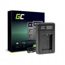 Ładowarka DE-A65BB Green Cell ® do Panasonic DMW-BCG10 Lumix DMC-TZ10 DMC-TZ20 DMC-TZ30 DMC-ZS5 DMC-ZS10 DMC-ZX1 (ADCB35)