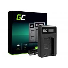 Green Cell polnilec baterije DE-A83, DE-A84 za Panasonic DMW-MBM9, Lumix DMC-FZ70, DMC-FZ60, DMC-FZ100, DMC-FZ40, DMC-FZ47 (ADCB12)