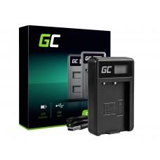 Green Cell polnilec baterije MH-23 za Nikon EN-EL9, DSLR D40, D40X, D60, D3000, D5000 (ADCB03)