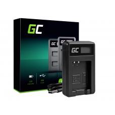 Green Cell polnilec baterije MH-65 za Nikon EN-EL12, AW100S, S640, AW100, P300, P330, P310, S70 S6000 (ADCB02)