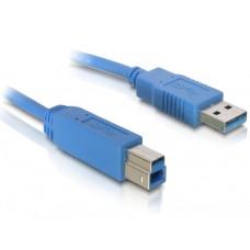 Kabel USB 3.0 A-B Moški/Moški 3.0m