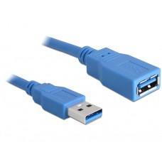 Kabel USB 3.0 Podaljšek, A/A 2m Moški/Ženski