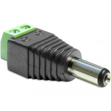 Adapter Terminalblock > DC 2,1 x 5,5 mm Moški priključek