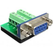 Adapter Terminalblock > Sub-D 9Pin Ženski