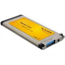 Express Card > USB 3.0 1x NEC ploščata Delock