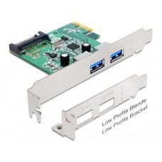 Delock PCI Express Kartica > 2 x USB 3.0