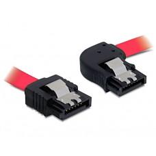 Kabel SATA 30cm rdeči desno/ravni Kovinski