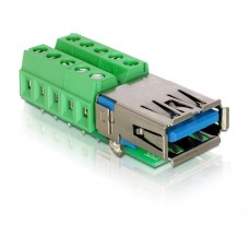 Adapter Terminalblock > USB3.0 A-Ženski