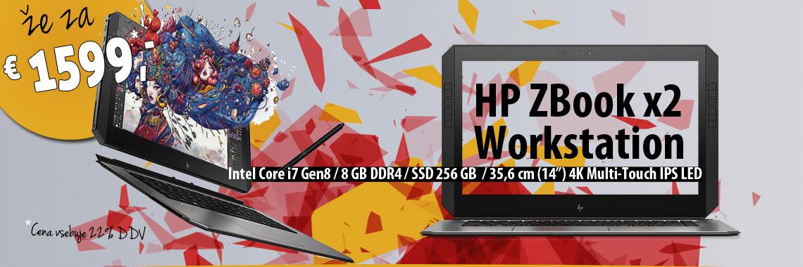 HP ZBook x2 prenosniki